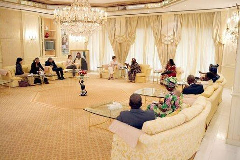 The Aso Rock Presidential Villa