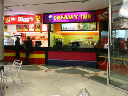 Mr Biggs, Creamy Inn & Pizza Inn