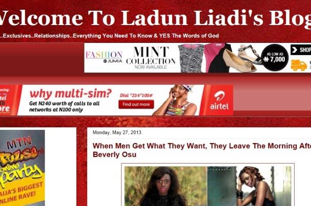 Ladun Liadi S Blog Lgtnigeria