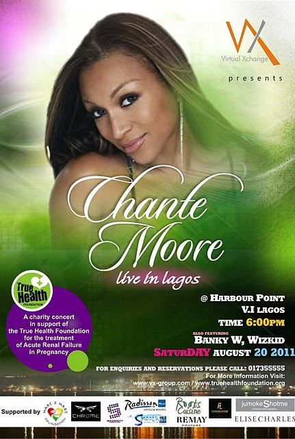 Chante Moore Live In Lagos: Charity Concert