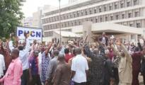Phcn Employees Celebrate Nnaji's Resignation