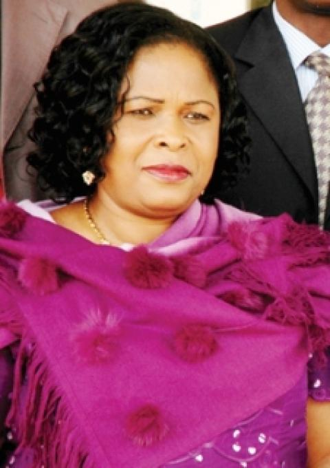 Patience Jonathan Had Fibroids Removed; Husband...