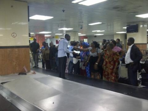 At Gatwick Airport, Air Nigeria Asks Passengers...