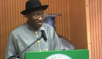 Jonathan Submits 2013-2015 Expenditure Framework To Senate