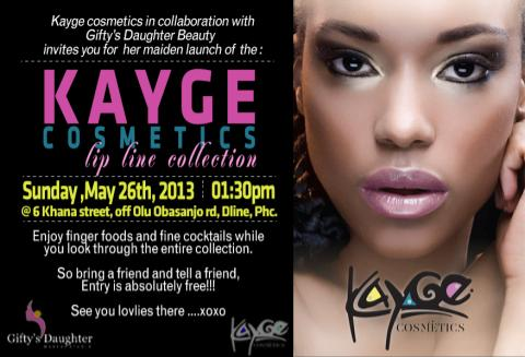KAYGE Cosmetics Lip Line Collection